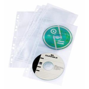 Koszulki na 4 płyty CD/DVD COVER LIGHT S 5 sztuk 528219 - 2832519146