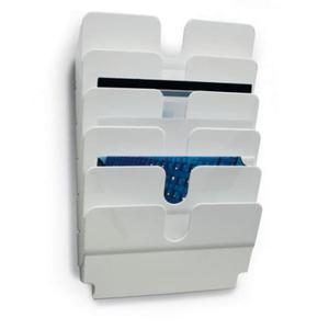 Pojemniki na dokumenty poziome A4 FLEXIPLUS A4 6 szt. kolor biały 1700014011 - 2844412915