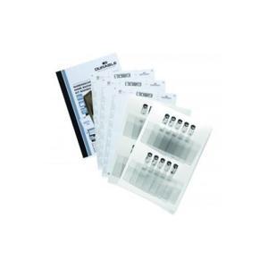 Zestaw Identyfikatorów 60x90x z klipem Durable 20szt - 2844412928