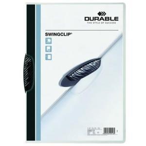 Skoroszyt zaciskowy A4 SWINGCLIP 1-30 kartek czarny 2260 01 - 2832518562