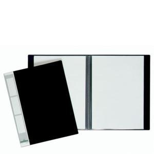 Album ofertowy, teczka DURALOOK 20 kieszeni PP czarny 2422 01 - 2832518665