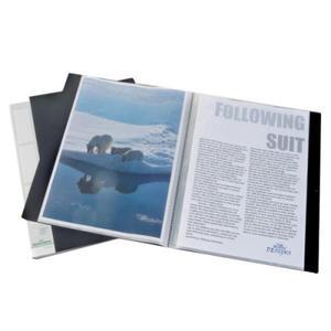 Album ofertowy, teczka DURALOOK 30 kieszeni PP czarny 2423 01 - 2832518666
