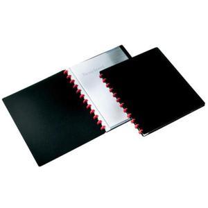 Album ofertowy, teczka DURALOOK Easy 20 kieszeni PP czarny 2426 01 - 2832518668