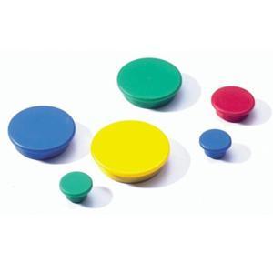 Magnesy do tablic średnica 21mm żółte 6 sztuk 4702 04 - 2832518970