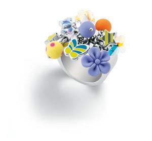 Bizuteria Bijoux Swatch JRD031 -8 Pierscionek - 2841617454
