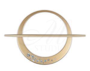 Klamra dekoracyjna CRYSTAL z kryszta - 2822983116