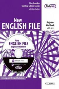 New English File Beginner Workbook with key + CD-ROM - 2826688797