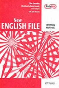 New English File Elementary Workbook - 2858839465