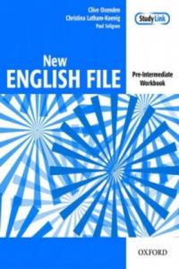 New English File Pre-intermediate Workbook - 2858840218