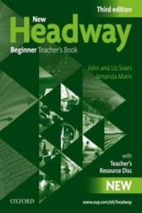 New Headway Third edition Beginner Teacher's Book + Resource CD-rom Pack - 2858840601