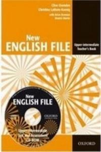 New English File Upper Intermediate Teacher's Book + Test Resource CD-ROM - 2858841012