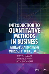 Introduction to Quantitative Methods in Business - 2854479232