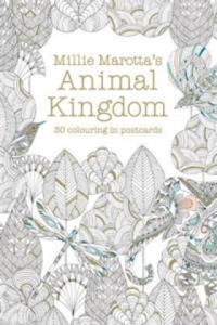 Millie Marotta's Animal Kingdom Postcard Book - 2826652096
