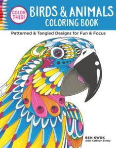 Color This! Birds & Animals Coloring Book - 2826659107