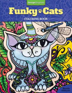 Funky Cats Coloring Book - 2826620232