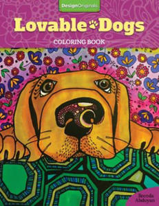 Lovable Dogs Coloring Book - 2826625426