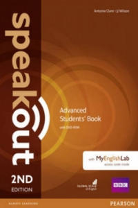 Speakout Advanced 2nd Edition Students' Book with DVD-ROM and MyEnglishLab Access Code Pack - 2854464315