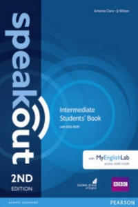 Speakout Intermediate Students' Book with DVD-ROM and MyEnglishLab Access Code Pack - 2840797728