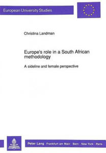 Europe's Role in a South African Methodology - 2854467581