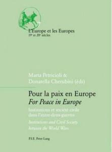 Pour La Paix En Europe For Peace in Europe - 2854471929