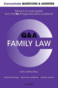 Q&A FAMILY LAW - 2854507123