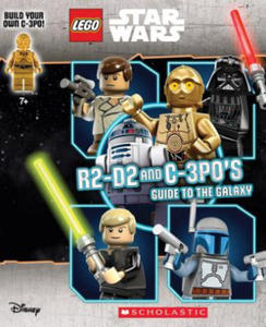 LEGO Star Wars: R2-D2 and C-3P0's Guide to the Galaxy (with Minifigure) - 2837116699