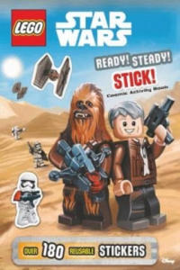 LEGO Star Wars: Ready, Steady, Stick! Cosmic Activity Book - 2854480877