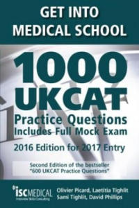 Get into Medical School - 1000 UKCAT Practice Questions. Include Full Mock Exam - 2834138657