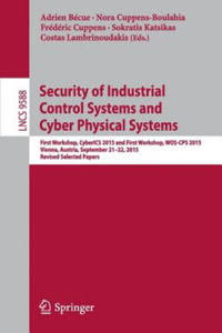 Cybersecurity of Industrial Control Systems, Security of Cyber Physical Systems - 2844164796