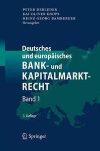 Deutsches und europäisches Bank- und Kapitalmarktrecht - 2854497884