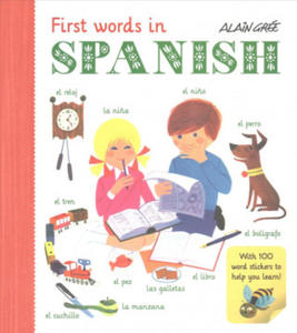 Alain Gree - First Words in Spanish - 2854528543