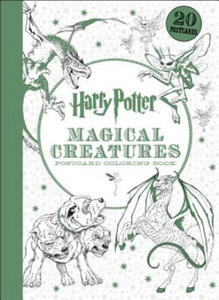 Harry Potter Magical Creatures Postcard Coloring Book - 2844863013