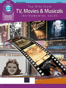 Top Hits from TV, Movies & Musicals Instrumental Solos - 2861914666