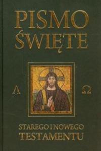 Pismo Swiete Starego i Nowego Testamentu Czarne - 2863737935