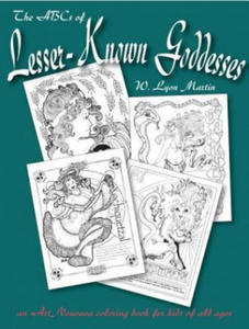 The ABCs of Lesser Known Goddesses: An Art Nouveau Coloring Book for Kids of All Ages - 2876191087
