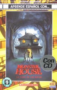 Aprende espanol con ... Nivel 1 (A1) La casa de los sustos - Libro + CD - 2847394852