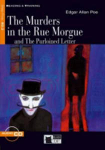 Black Cat MURDERS IN THE RUE MORGUE + CD ( Reading a Training Level 5) - 2844386609