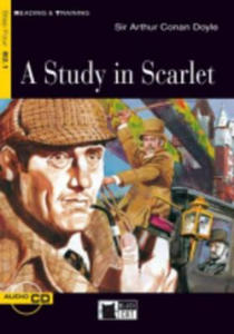 Black Cat STUDY IN SCARLET + CD ( Reading a Training Level 4) - 2836343028