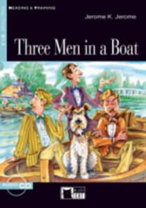 Black Cat THREE MEN IN A BOAT + CD ( Reading a Training Level 3) - 2836343033