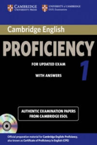 Cambridge English Proficiency 1 for Updated Exam Self-study Pack (student's Book with Answers and Audio CDs (2)) - 2826626244