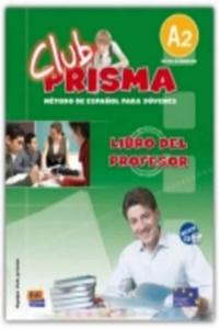 Club Prisma Elemental A2 Libro del profesor + CD - 2846346591