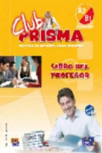 Club Prisma Intermedio A2/B1 Libro del profesor + CD - 2843901579