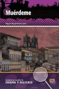 Lecturas en espanol de enigma y misterio Muérdeme + CD - 2836342097