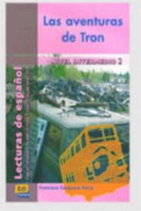 Lecturas graduadas Intermedio II Las aventuras de Tron - Libro - 2827033002