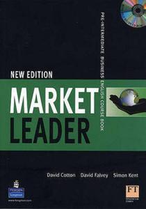 MARKET LEADER Pre-intermediate new edition Course Book with Multi-ROM - 2826706650