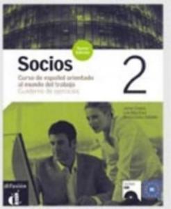 Socios 2 Nueva Edición Cuaderno de ejercicios + CD - 2834144796