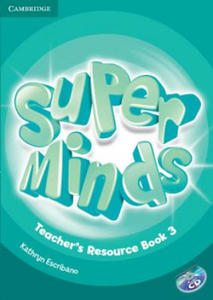 Super Minds Level 3 Teacher's Resource Book with Audio CD - 2826631299