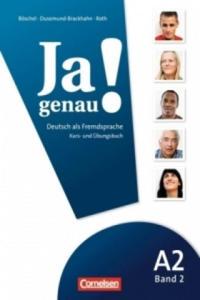 JA GENAU! A2 BAND 2 KURS- und ÜBUNGSBUCH mit AUDIO CD - 2826629012
