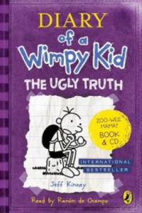 Diary of a Wimpy Kid: The Ugly Truth book & CD - 2826742525