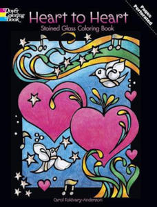 Heart to Heart Stained Glass Coloring Book - 2826624376